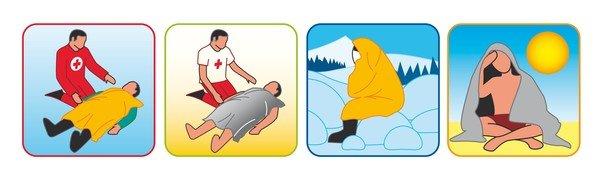 rescue blanket 160 x 210cm