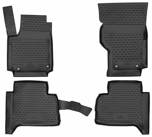 XTR rubber mats for VW Amarok year 2010 - Today