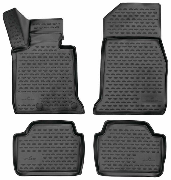 XTR rubber mats for BMW 1 (F20) year 2011 - 06/2019