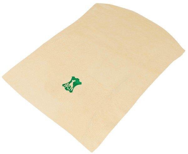 Tessuto scamosciato beige, 42 x 28 cm