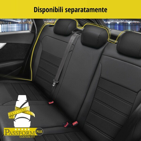 Coprisedili Aversa per Skoda Karoq anno 07/2017 fino ad oggi - 2 coprisedili singoli per sedili normali