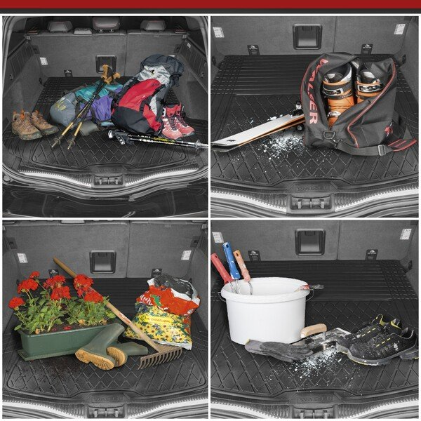 Boot tray Safeguard size L - 130x120cm