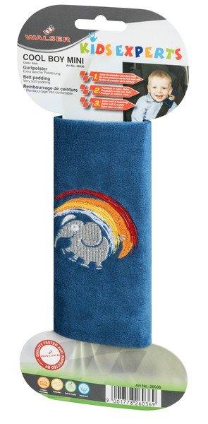 Cool Boy Mini-Gurtpolster Gurtschoner blau ab 3-4 Jahre