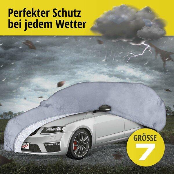 Autoplane Abdeckplane All Weather Premium Größe 7 grau