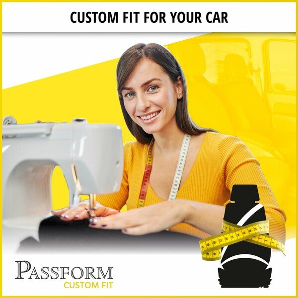 Premium Car Seat cover for Fiat Doblo 11/2000-Today, 2 single seat covers front