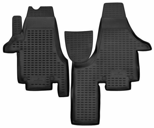 Tapis en caoutchouc XTR pour VW Multivan V année 04/2003-08/2015