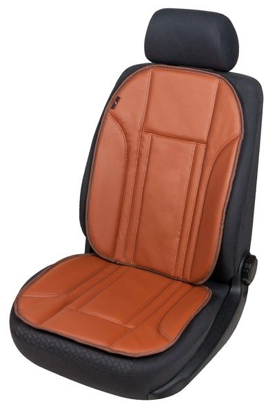 Car Seat cover in imitation leather Ravenna brown