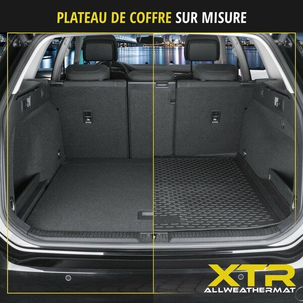 Tapis de Coffre XTR pour BMW X6 année 06/2007 - 07/2019, sans système de fixation adaptatif