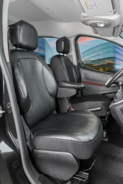 Transporter Coprisedili in similpelle per Peugeot Partner, 2 posti singoli anteriori