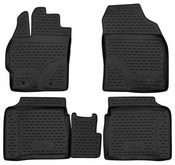 XTR rubber mats for Toyota Prius year 06/2008 - Today