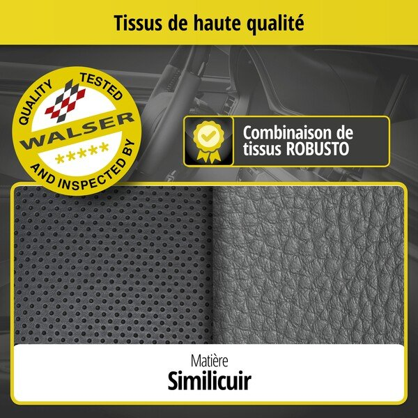 Housse de siège Robusto pour Opel Zafira/Zafira Family B A05 année 07/2005-05/2019, 2 housses de siège pour sièges normaux