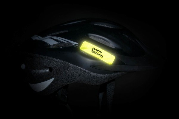 Neon sticker yellow 70x20 mm