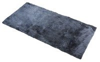 Lambskin back seat Seat cover Cacey anthracite 120x60 cm