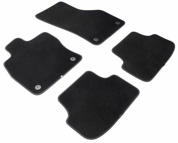 Premium Fußmatten für Audi A3 Sportback (09/2012-Heute), A3 Limousine (05/2013-Heute)