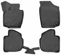 XTR rubber mats for Skoda Rapid year 07/2012 - 12/2019