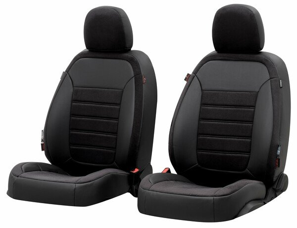 Seat cover Bari for Ford Focus III Turnier year 07/2010-Today, 2 seat covers for normal seats Trend/TrendXStyle