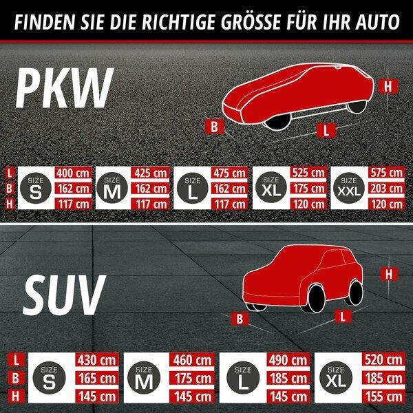 PKW Hagelschutz Hybrid UV Protect SUV Größe S