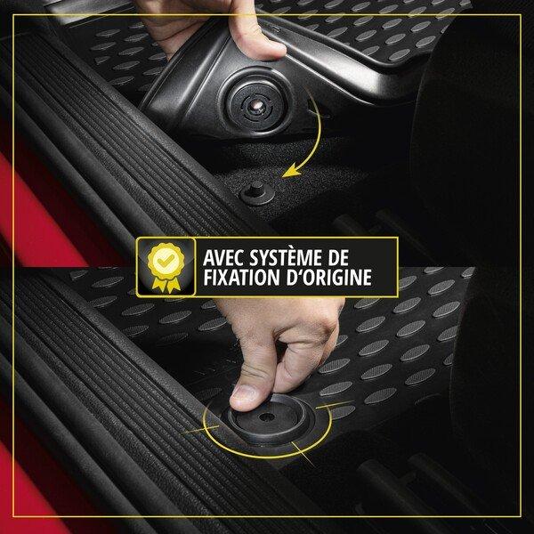 Tapis en caoutchouc XTR pour Opel Mokka X année 2018 - aujourd'hui