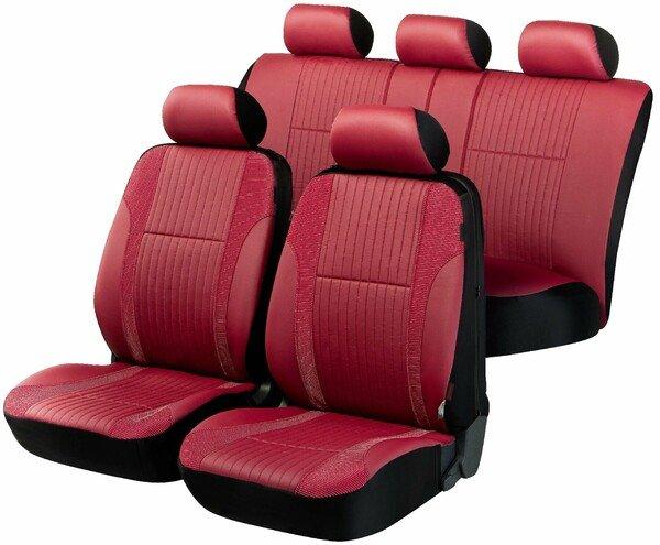 ZIPP IT Deluxe Medway housses de siège auto en simili cuir avec système de fermeture éclair