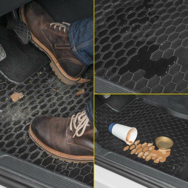 Gummimatten für VW Caddy Baujahr 2003 - 2019