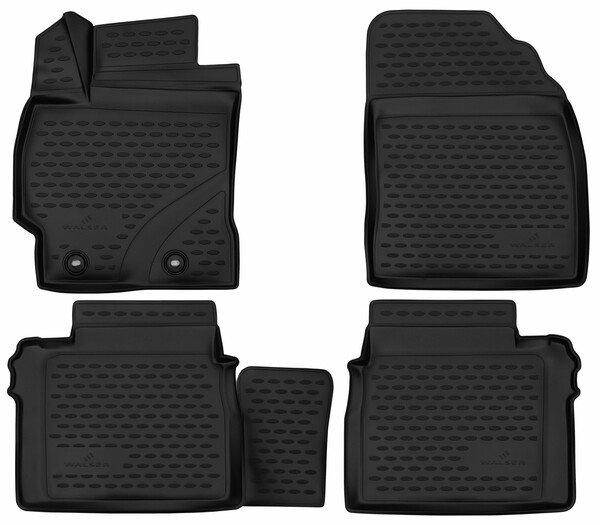 XTR rubber mats for Toyota Corolla Sedan year 06/2013 - 05/2019