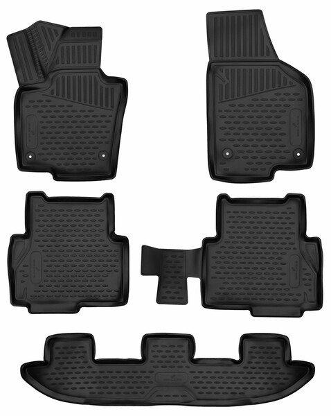 Gummimatten XTR für VW Sharan/Seat Alhambra BJ 06/2010 - Heute