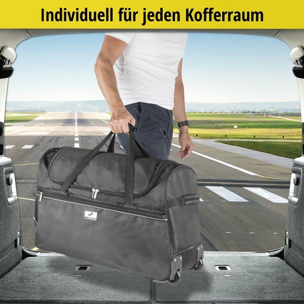 Carbags Trolley 70x30x40cm schwarz