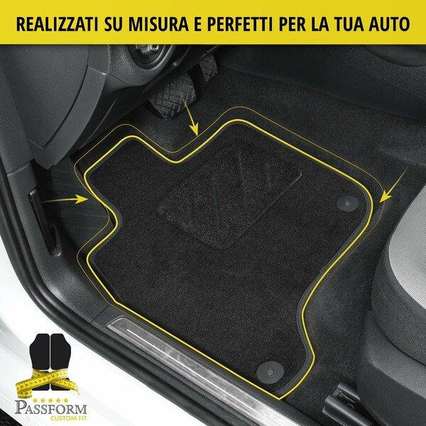Tappetini Premium per VW T4 (cabina di guida) 2 posti a sedere con cambio manuale