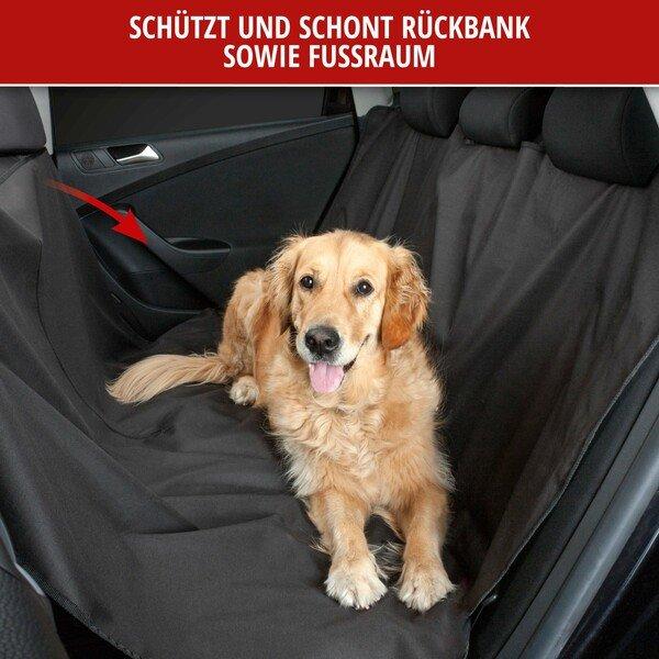 PKW Rücksitzbank Schutzdecke, Hundedecke Nero