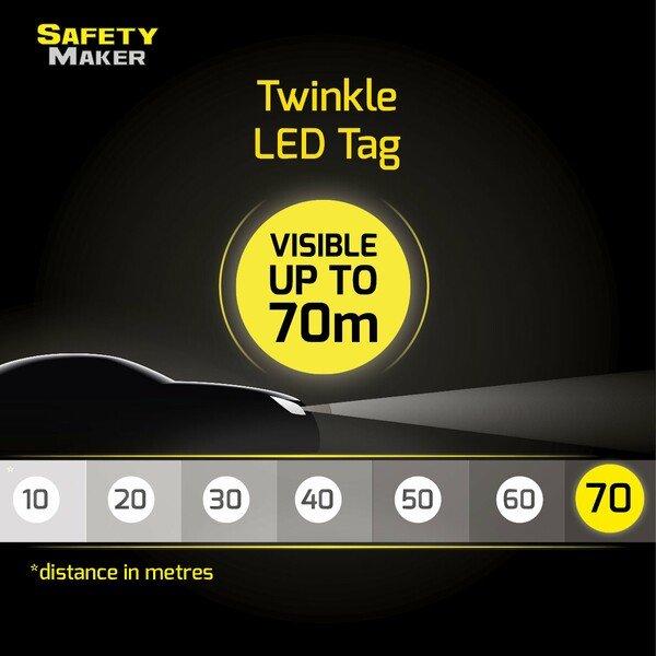 Twinkle LED Pendant green