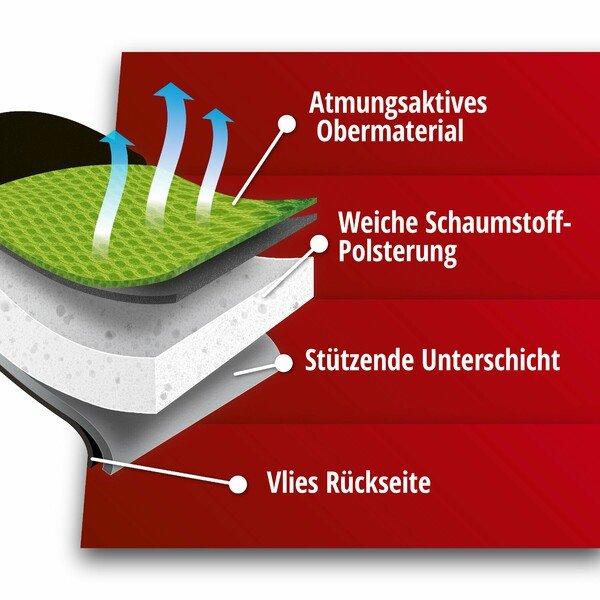 PKW Sitzauflage Grafis grün