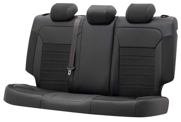Housse de siège 'Torino' pour Fiat 500X année 2015 à aujourd'hui - 1 Housse de siège arrière pour les sièges normaux