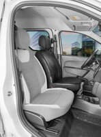 Housse de siège Transporter en simili cuir pour Dacia Dokker, conducteur monoplace
