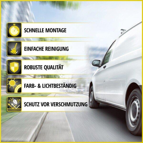 Autoschonbezug Transporter aus Stoff für Fiat Doblo II, Einzelsitz Beifahrer