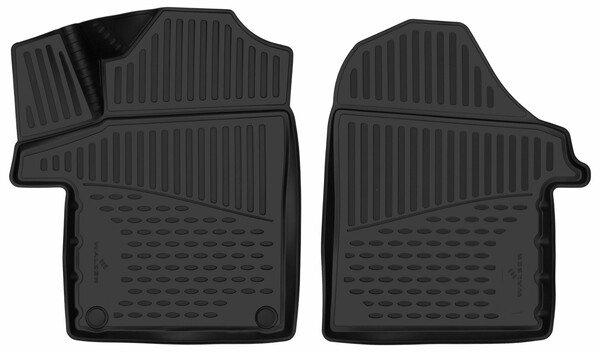 Tapis en caoutchouc XTR pour Mercedes-Benz Classe V (W447) 03/2014-Auj.