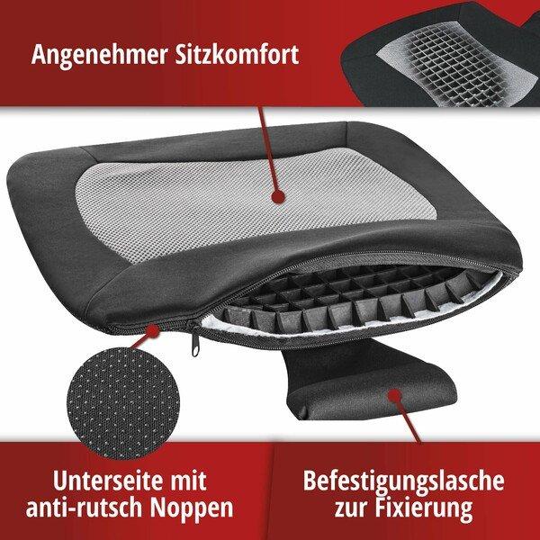 Sitzkissen Cool Touch schwarz-grau