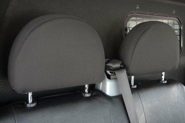 Housses de sièges pour Ford Transit imitation cuir, siège simple et double banquette avant à partir de l'année modèle 08/2000-04/2014