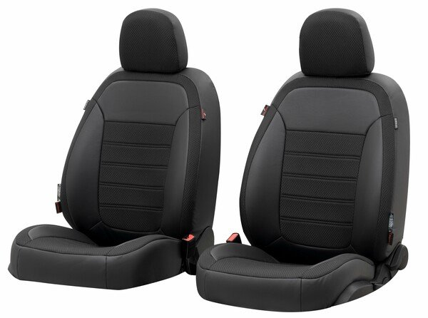 Seat cover 'Aversa' for Audi A4 year of construction 2017 until today - 2 Seat covers for normal seats