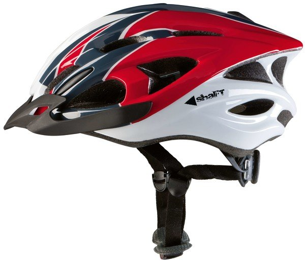 Cycle helmet Shaft red size 54 - 58 cm