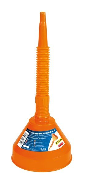Plastic funnel with hand brake handle 160 mm