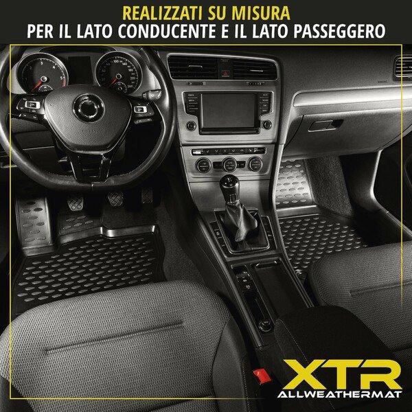 Tappetini in gomma per auto su misura per Opel Astra J, anno 09/2009 - 10/2015, Astra J Caravan, anno 10/2010 - 10/2015