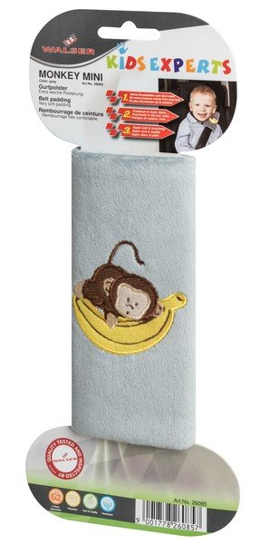 Monkey mini belt pads belt protector grey from 3-4 years