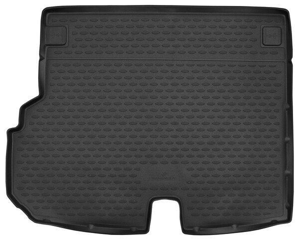 Trunk mat XTR for Mercedes Benz GLK (X204) with cut for handle Year of construction 2012 to 2015