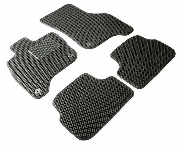 Qlean Mats, tapis en caoutchouc fabriqués sur mesure pour votre BMW X1 (F48) 11/2014- auj., tapis de sol pour voiture en matériau EVA