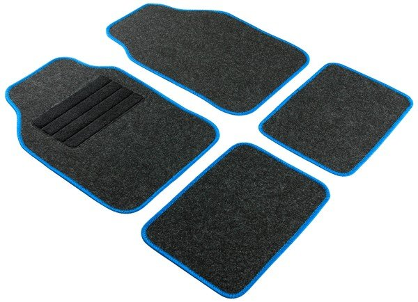 Car Carpet Regio blue 4pcs set universal fit