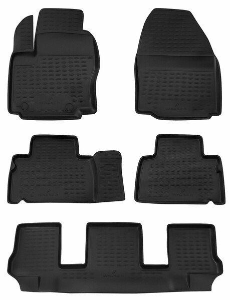 Gummimatten XTR für Ford Galaxy Baujahr 05/2006 - 06/2015