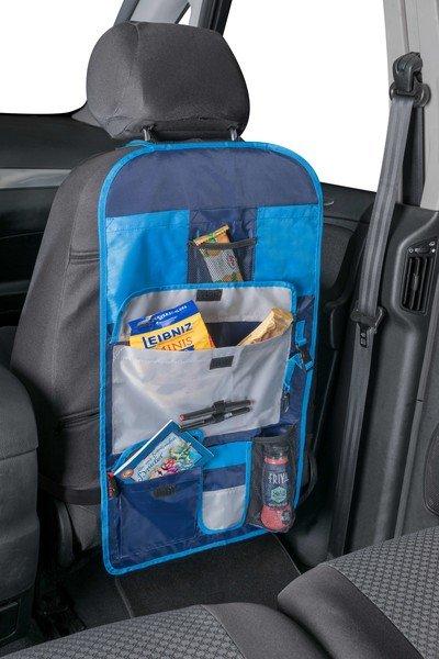 siège auto organisateur enfants sac à dos Timmy blue
