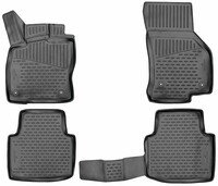 XTR rubber mats for Skoda Superb III 2015 - Today