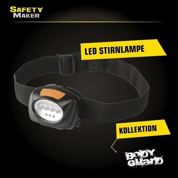 LED Stirnlampe schwarz