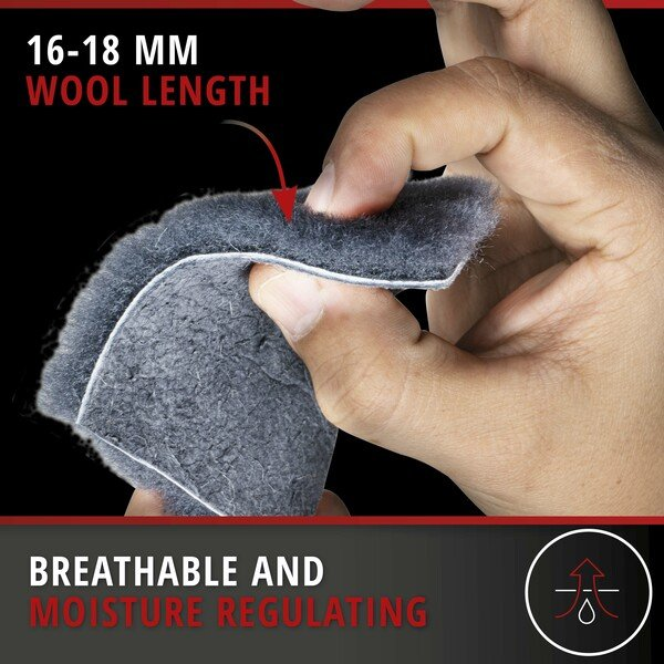 Car Seat cover from lambskin Vogue grey 16-18mm fur height